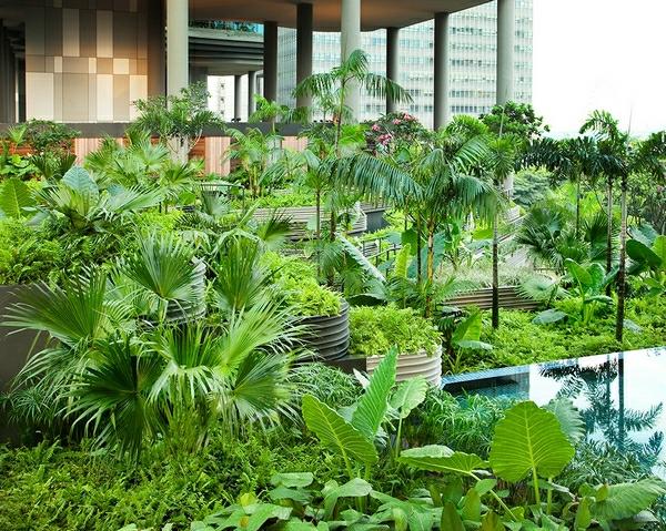 Parkroyal Hotel in Singapur
