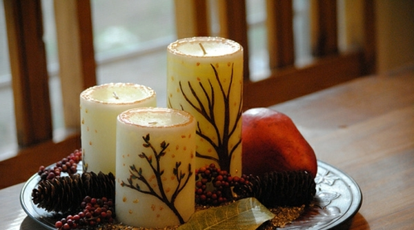20 handgemachte tolle Ideen fr Kerzen Deko