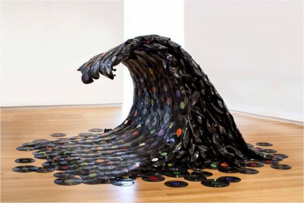20 handgemachte einzigartige Schallplatten Projekte