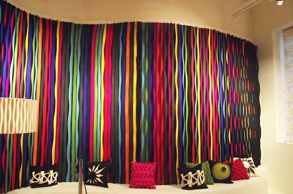 Tolle Wand Dekoration aus Filz