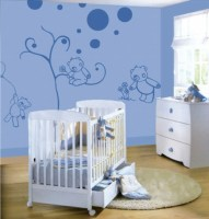 Malvorlagen Kinderzimmer Wand