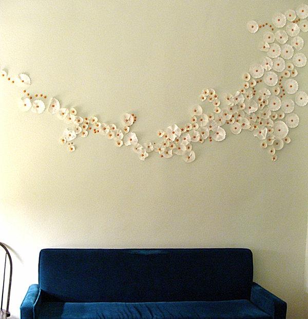 living room ideas for cheap large wall clocks 20 einfache handgemachte wand kunst ideen
