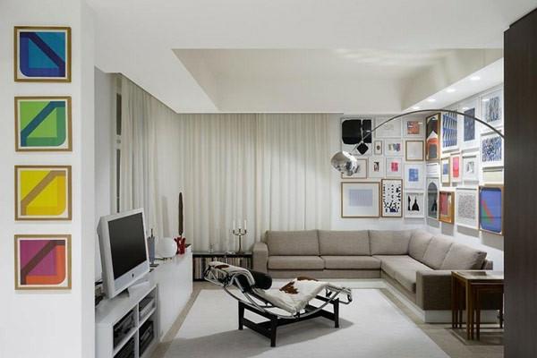 modern living room decor pics coffee table kleines wohnzimmer einrichten - 20 ideen für mehr geräumigkeit