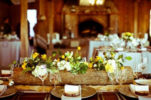 Kreative Ideen zum Selbermachen  originelle Vasen aus Baumstmpfen