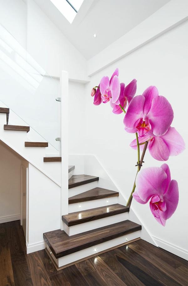 Moderne Wandgestaltung mit Fototapeten  coole Ideen fr