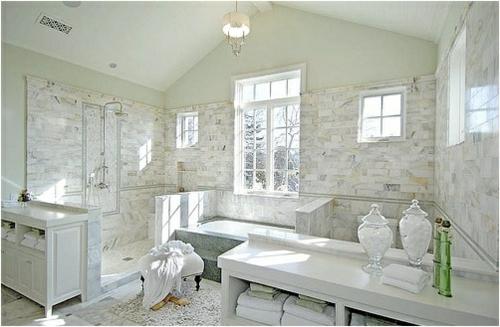 Modernes Badezimmer im Frauenstil  Wohnideen fr das romantische Bad