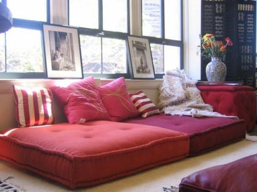 Orientalische Wohnideenverschnern Sie Ihr Wohnzimmer mit