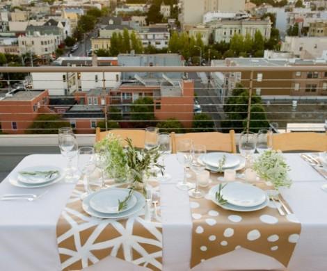 Tischdeko basteln  Decken Sie den Tisch mit Stil