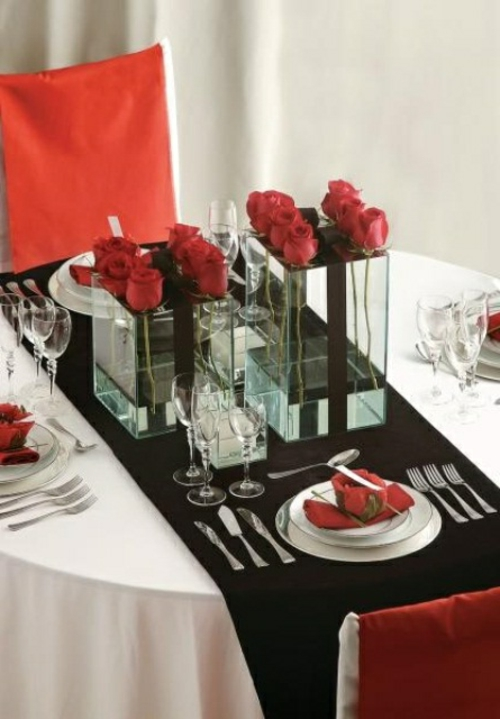 Valentinstag Deko Romantische Ideen Mit Blumen Und Obst