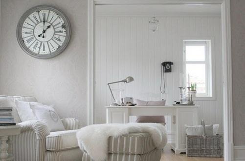 Wohnzimmer In Grau Und Lila