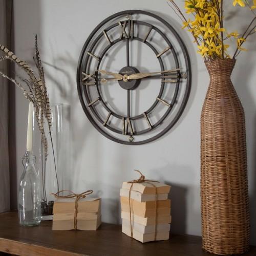 Design Moderne Wohnzimmer Uhren Eine Wanduhr Schicke Idee
