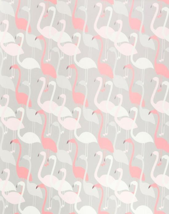 Wandgestaltung mit Tapeten lustige und originelle Tapetenmuster Ideen