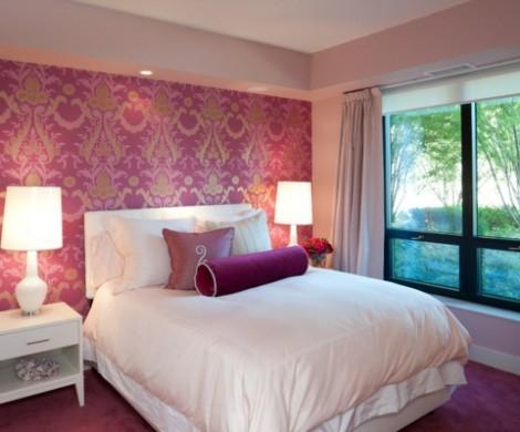 8 wunderschne Schlafzimmer in Rosa