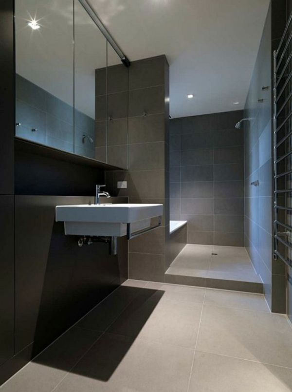 Elegantes Badezimmer Interior