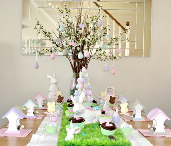 Erstaunlicher Ostern Tisch