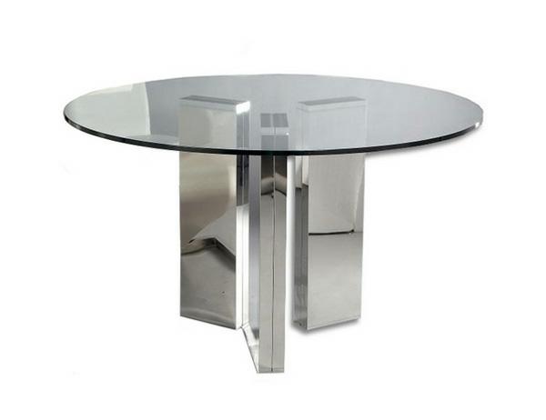 15 einzigartige runde Glas Esstische Stile