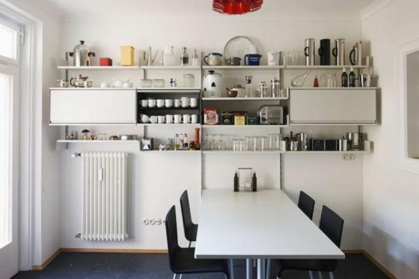 Tolle Kchen Interiors mit offenen Regalen
