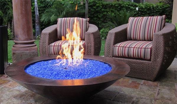 15 moderne Feuerschalen fr den Patio