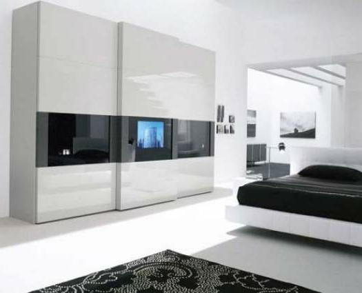 Ein moderner Kleiderschrank in Ihrem Schlafzimmer  15 tolle Ideen