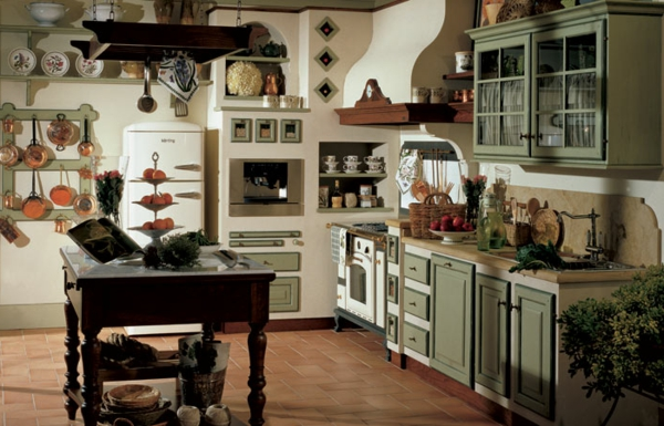 Entspannende rustikale Kchen Designs