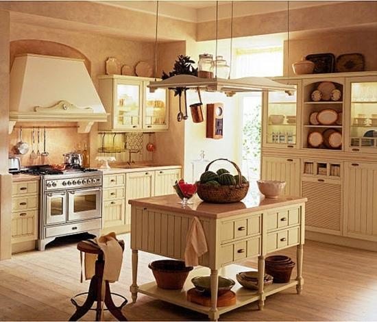Modern Country Kitchen Designs