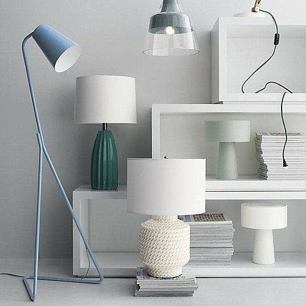 Moderne Stehlampen Wohnzimmer stehlampen modern designer leuchten im spotlicht moderne