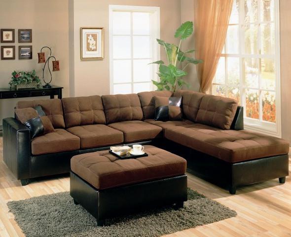 wohnzimmer farbe braune couch - boisholz - Wohnzimmer Sofa Braun