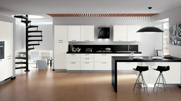 decoration kitchen vintage accessories elegante küche sieht wie tolles büro aus