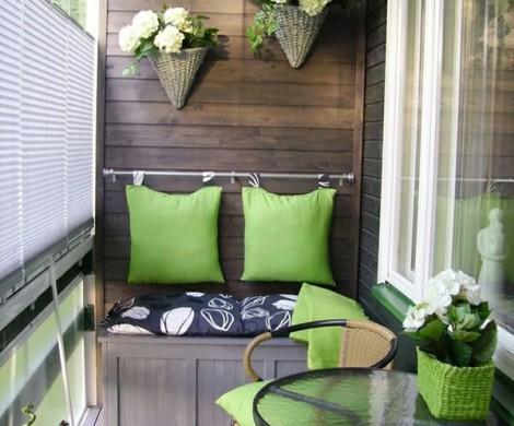Balkongestaltung als Teil der Wohnungseinrichtungntzliche Ideen