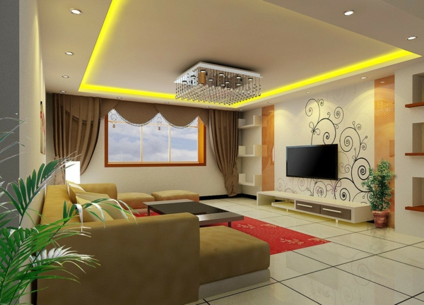 Living Room Ceiling Interior