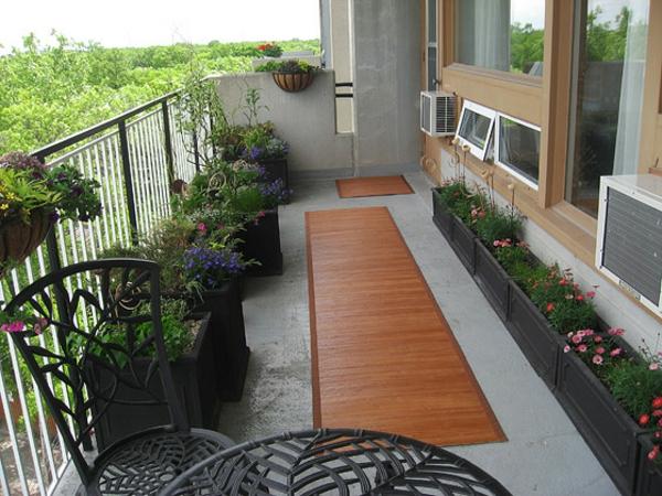 Balkongestaltung als Teil der Wohnungseinrichtung