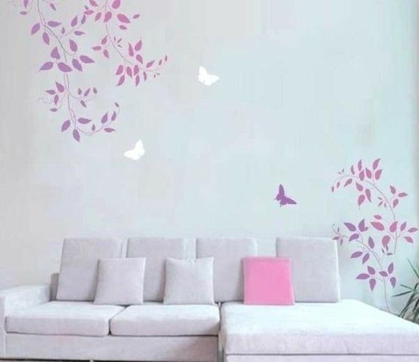 Wandmuster Ideen die Ihre Wnde verschnern