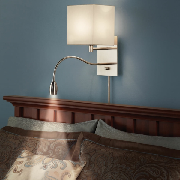 LED Bettleuchten fr Ihr Schlafzimmer  inspirierende Ideen