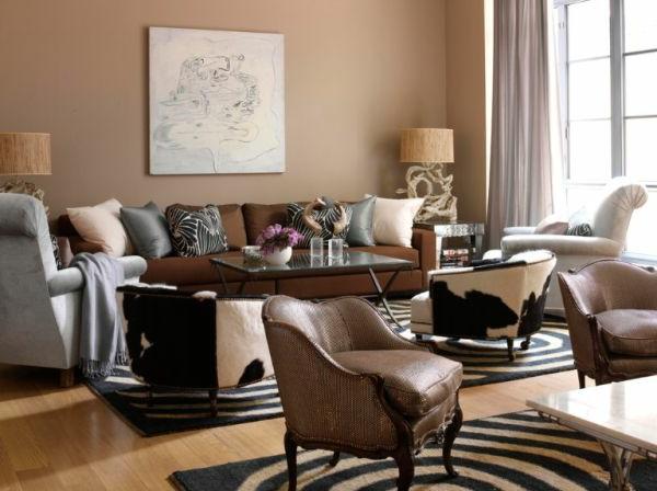 Wandfarben Brauntne  setzen Sie auf eine universale Farbe