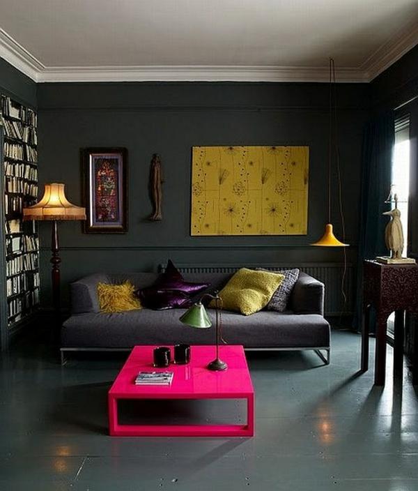 1001 Ideen fr Wandfarbe  Grautne fr die Wnde Ihrer Wohnung
