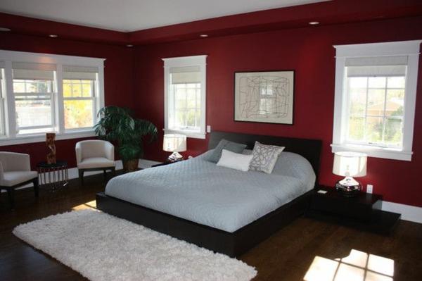 Schlafzimmer Wandfarbe Ideen