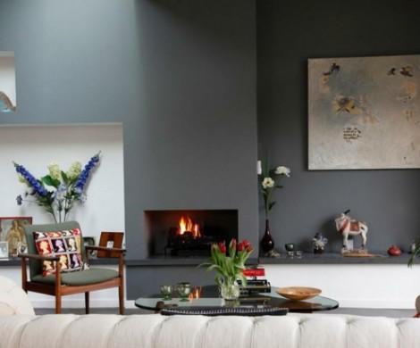 Wandfarbe Grautne fr die Wnde Ihrer Wohnung