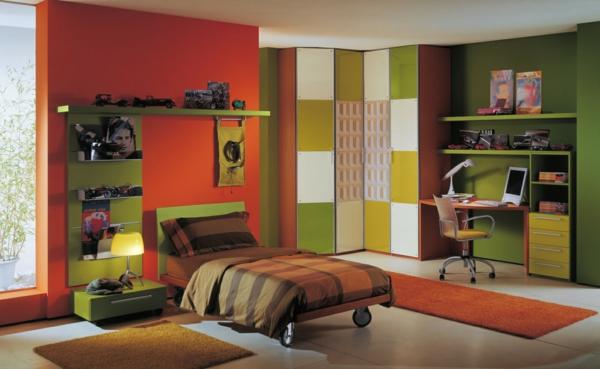 Wandfarben Kombinationen die Ihre Aufmerksamkeit anziehen