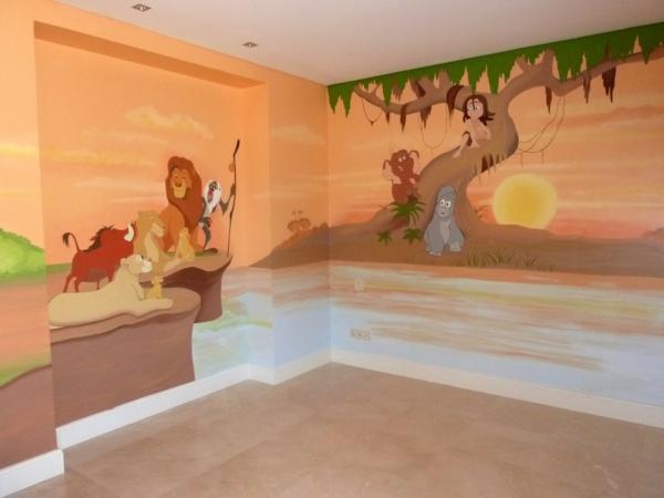 Wandtattoos frs Kinderzimmer die jedes Kind erfreuen