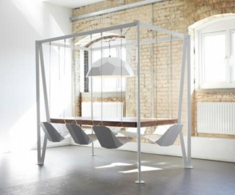 Designer Tische  ein wunderbarer Schaukeltisch von Duffy London