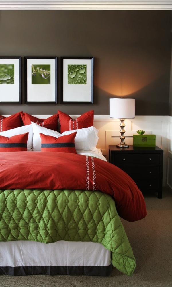 Farbideen fr Schlafzimmer  wollen Sie eine attraktive Farbgestaltung