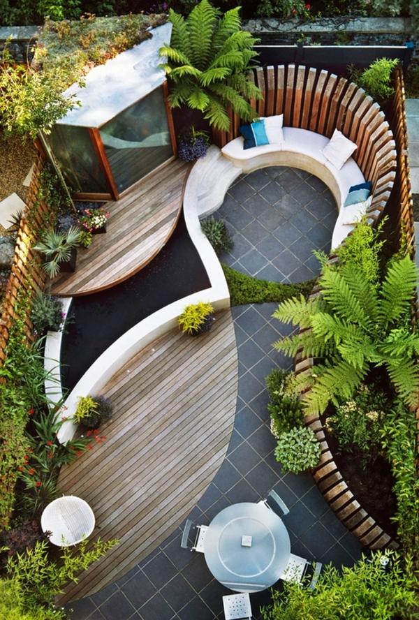 kleinen garten gestalten sichtschutz ideen fur kleinen garten die ... - Kleine Garten Grose Wirkung Gestaltungsideen