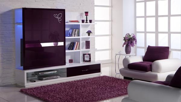 De Pumpink Com Wohnzimmer Farblich Gestalten Wei Lila