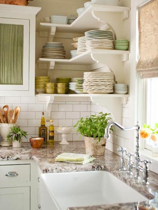 Wie offene Wandregale in Kchen richtig zu pflegen sind