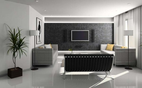Ideen Streichen Wohnzimmer: Wohnzimmer streichen 106 inspirierende ...