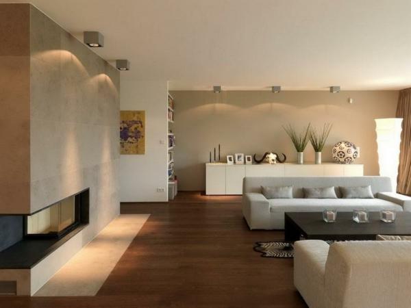 Gestalten Wohnzimmer Wohnzimmergestaltungs - Boisholz Moderne Wohnzimmer Gestaltung Beispiel