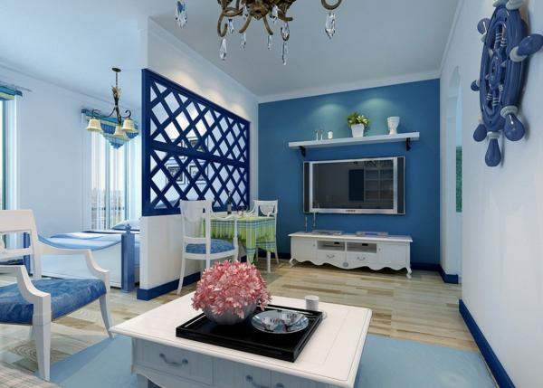 mediterranean living room display cabinet mediterrane einrichtungsideen fürs zuhause