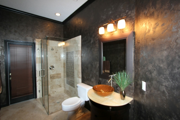 kitchen cabinets modern canisters ceramic metallic wandfarbe für ein luxuriöses ambiente in ihrer ...