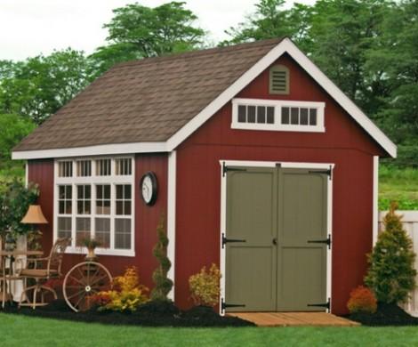 Gartenhaus im Schwedenstil  ein mrchenhafter Platz in Ihrem Garten