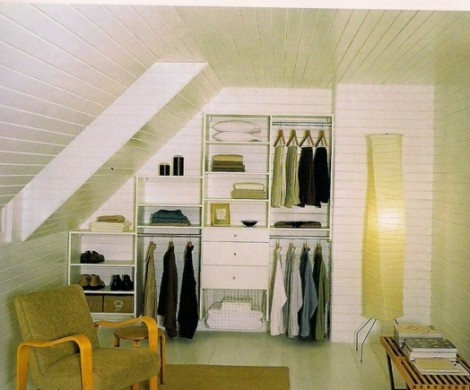 Ankleidezimmer Dachschrge der Traum jeder Frau